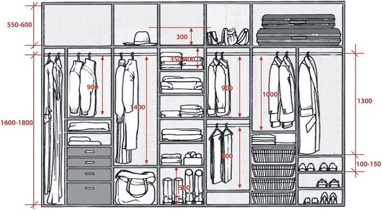 пошаговая инструкция - проектирование внутреннего пространства шкафа