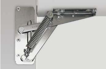 пружинный подъемник для шкафа
