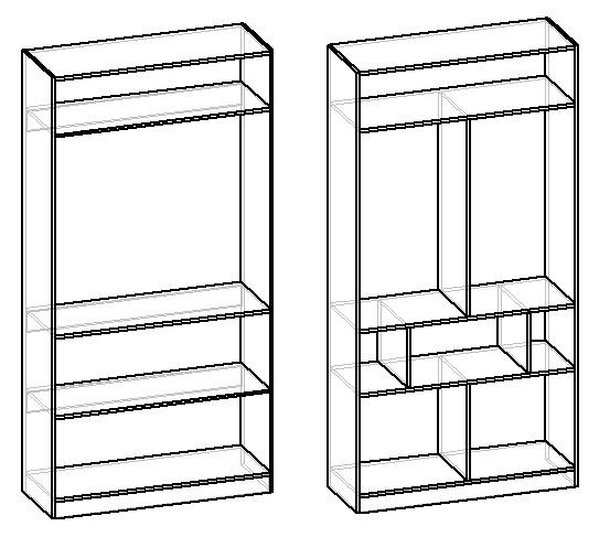 усиление полок в шкафу