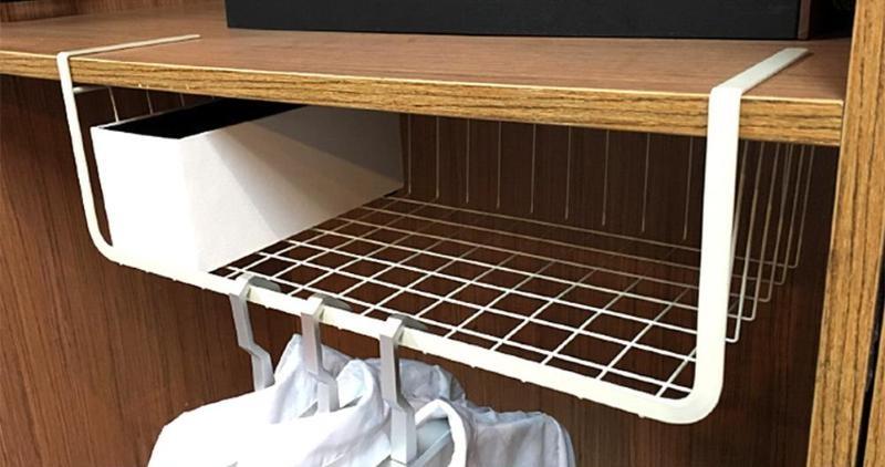 подвесные полки-органайзеры для шкафа