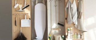 Хозяйственный шкаф для дома и не только, обзор вариантов с фото