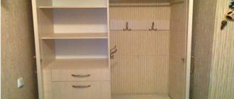 Как спроектировать и встроить шкаф в нишу своими руками