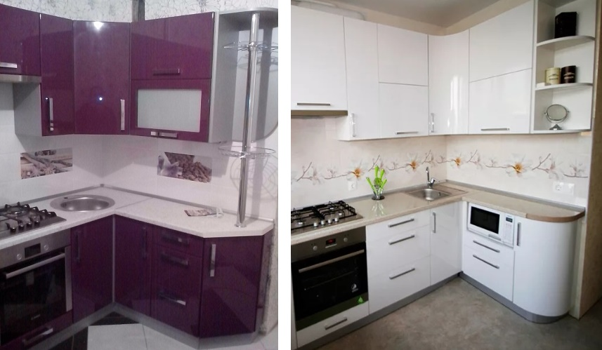 как оформить торцы кухонных шкафов