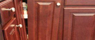Как отремонтировать шкаф своими руками