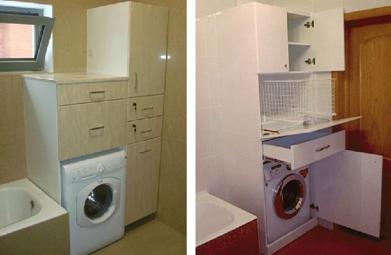 шкаф под стиральную машину своими руками