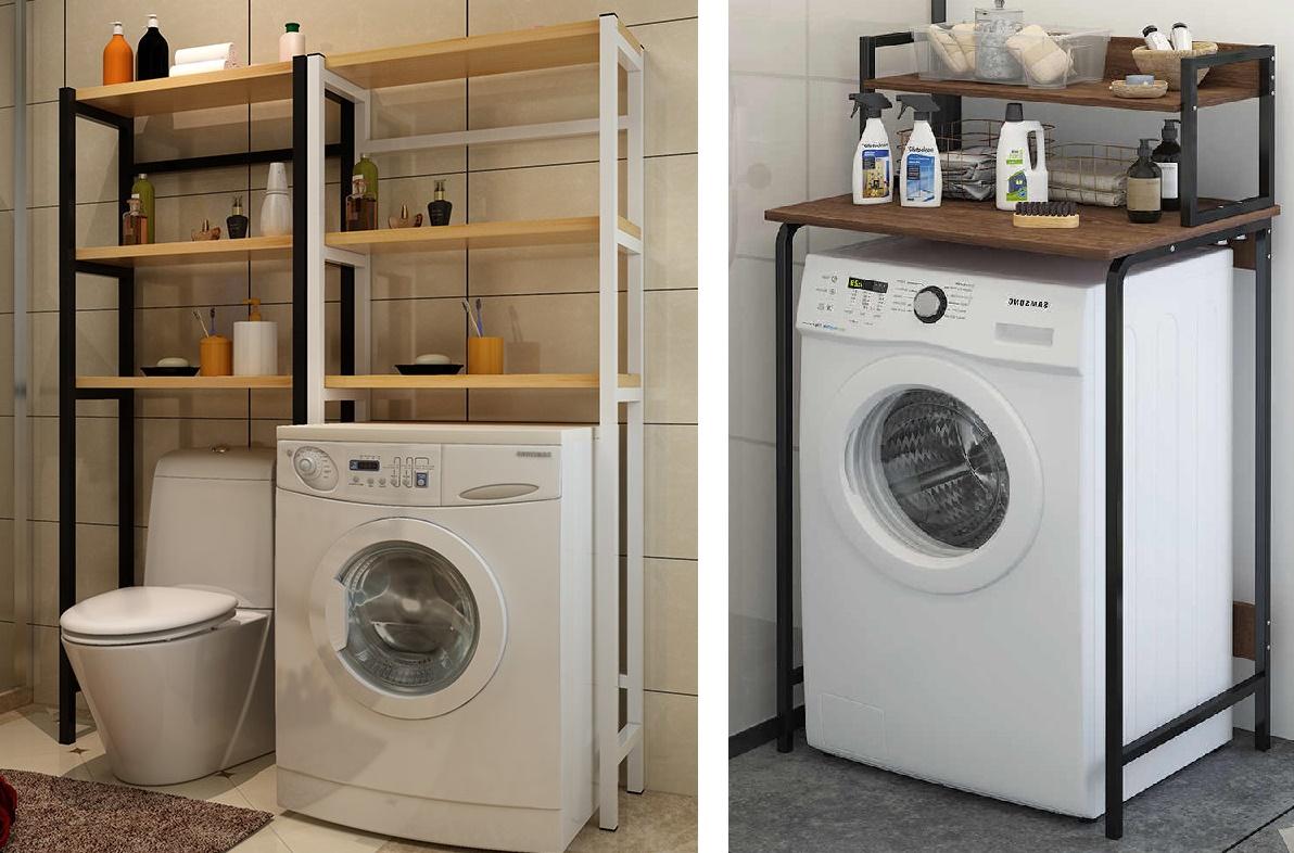стеллаж-надстройка для стиральной машины