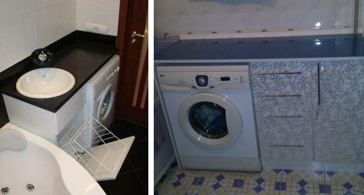 тумба под стиральную машину своими руками