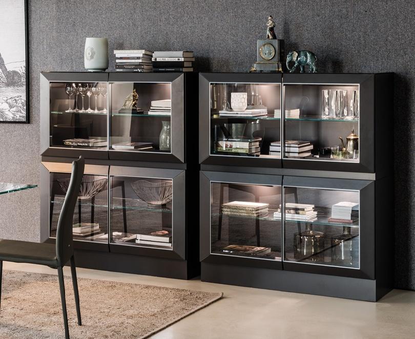 Напольный кухонный шкаф для посуды – обзор возможностей дизайна и внутреннего наполнения